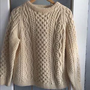 Sweaters - Irish Hand Knit Sweater form Blarney Woolen Mills